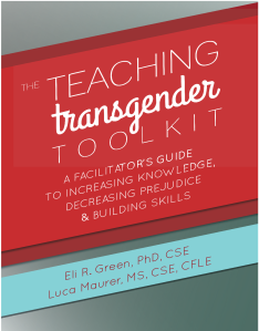 Cover for Teaching Transgender Toolkit